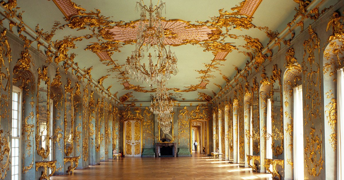 SCHLOSS CHARLOTTENBURG, Castle Interior