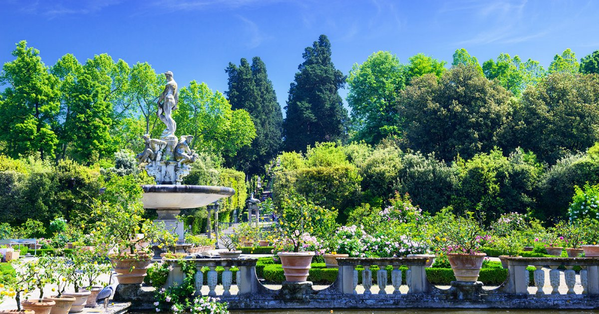 BOBOLI GARDENS, Second Part