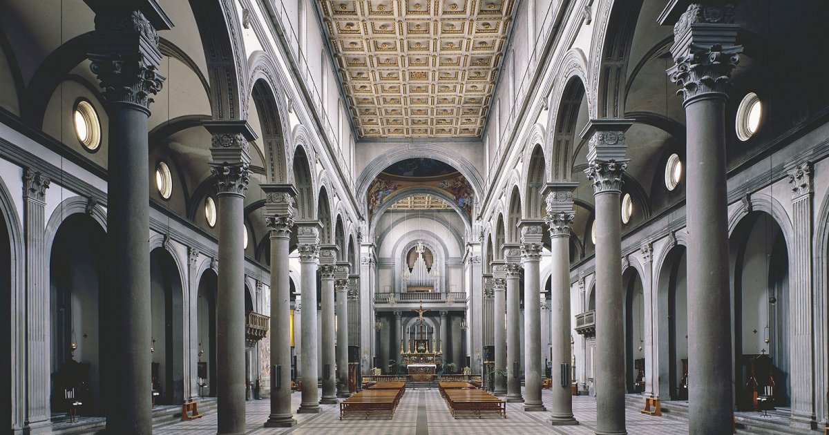 Audio guide san lorenzo interior mywowo travel app for Interior iglesia san lorenzo brunelleschi