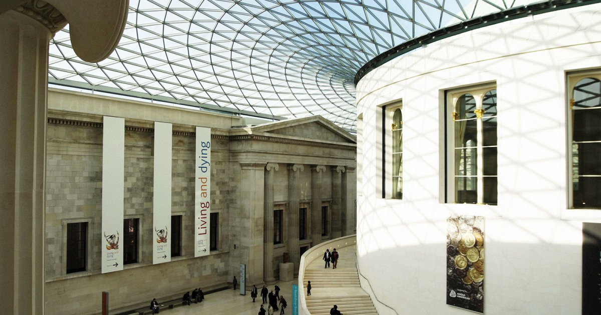 BRITISH MUSEUM, COLLECTIONS BUILDING
