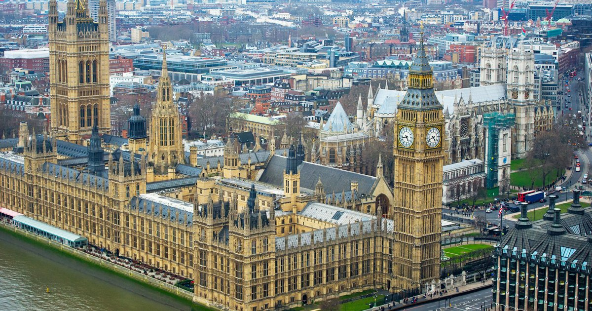 HOUSES OF PARLIAMENT, Westminster Geschichte
