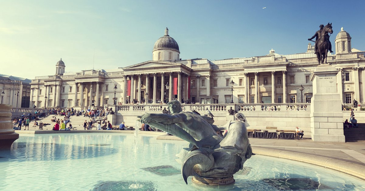 NATIONAL GALLERY LONDRA, STORIA