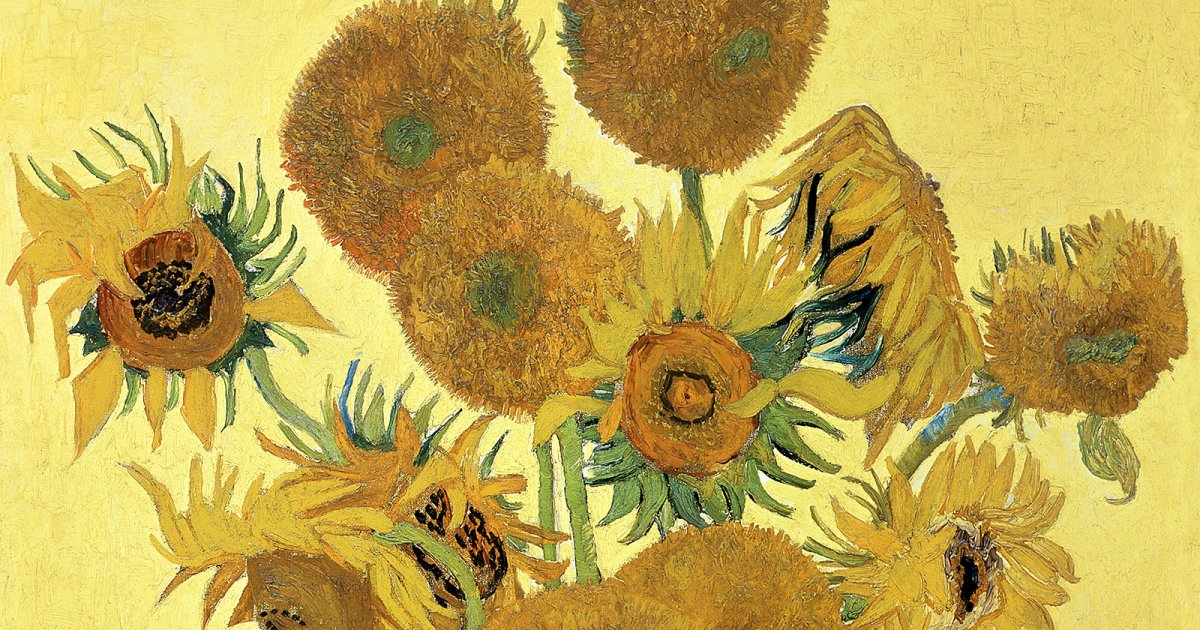 NATIONAL GALLERY, Van Gogh Girasoles
