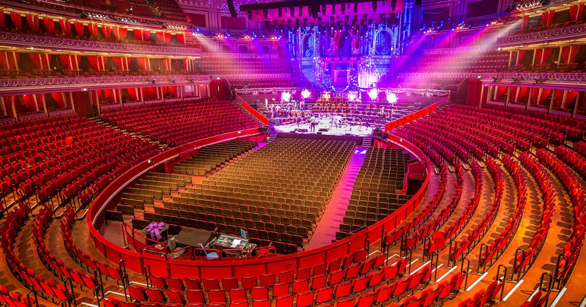 ROYAL ALBERT HALL, PRESENTATION