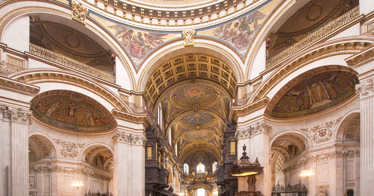 SAINT PAUL'S CATHEDRAL, INTERNO