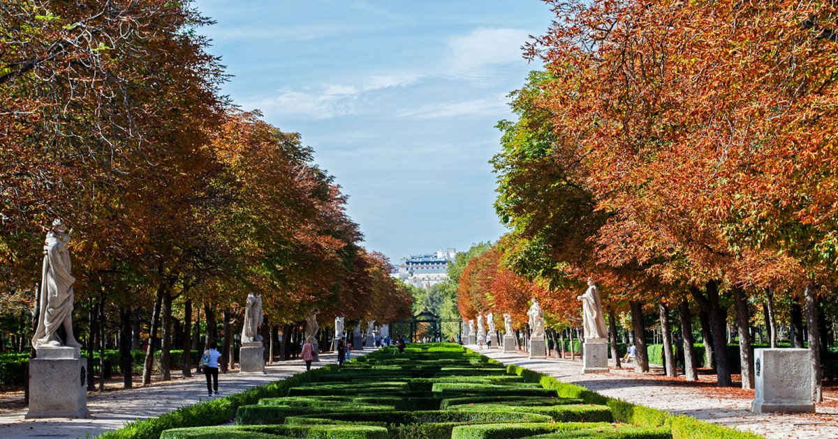 PARC DU RETIRO, Introduction