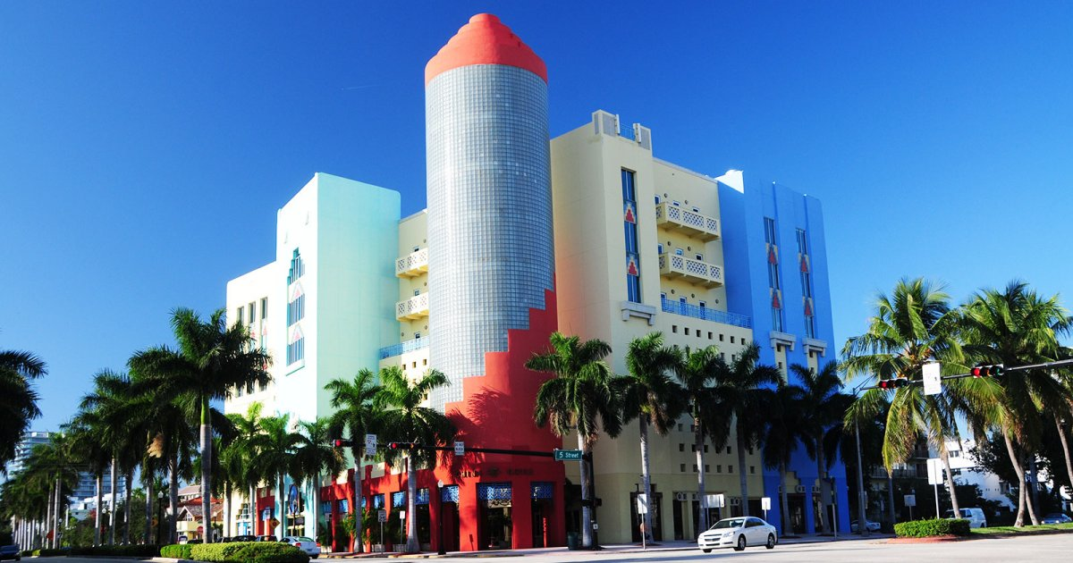 OCEAN DRIVE, Art Deco District
