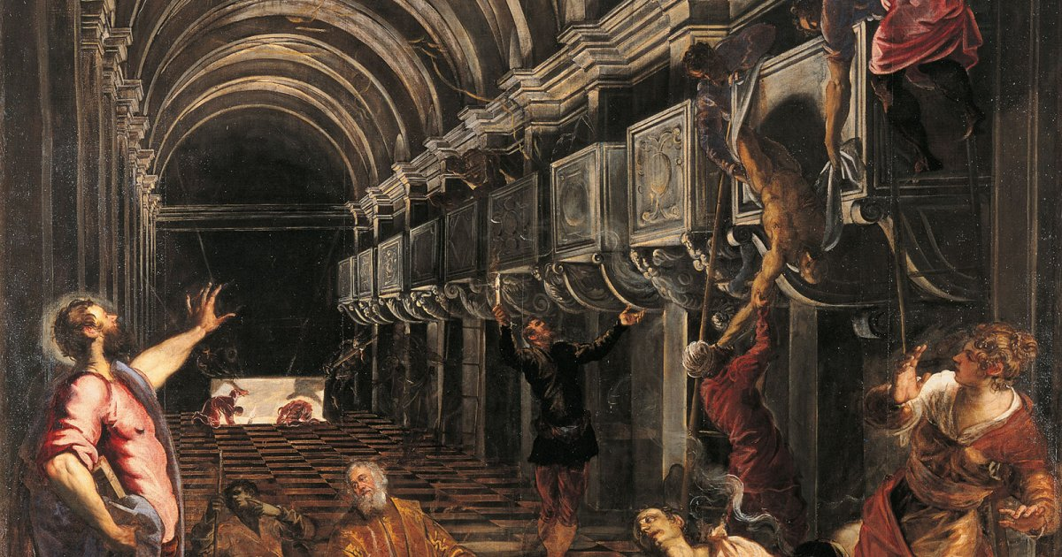 BRERA, FINDING OF THE BODY OF ST. MARK