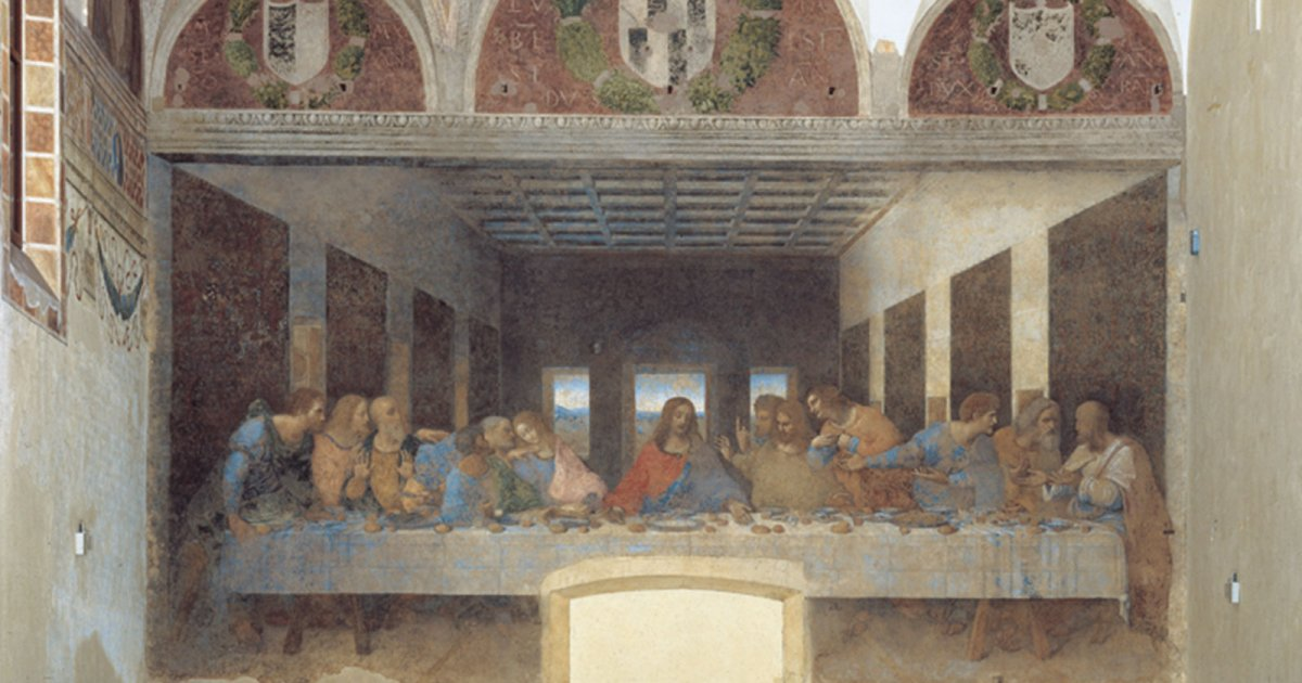 HOLY MARY OF GRACE, The Last Supper - Restoration