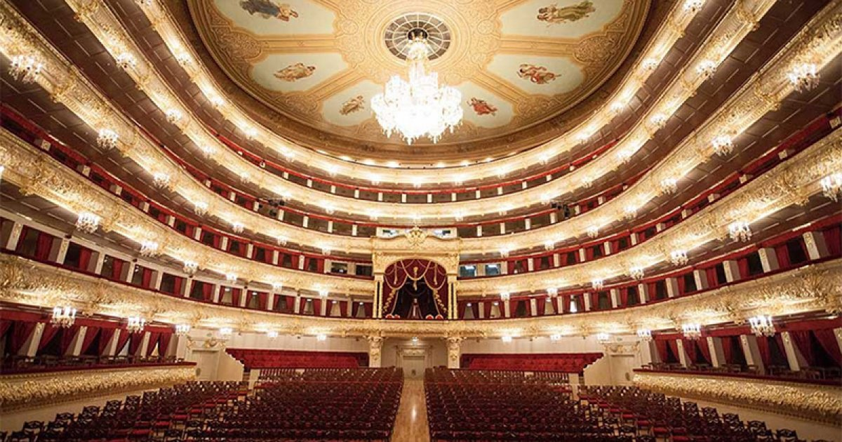 BOLSHOI THEATER, Exterior And Interior