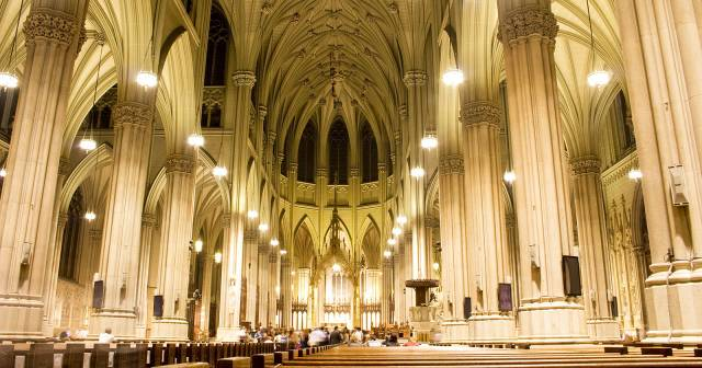 SAINT PATRICK'S CATHEDRAL INTERIOR