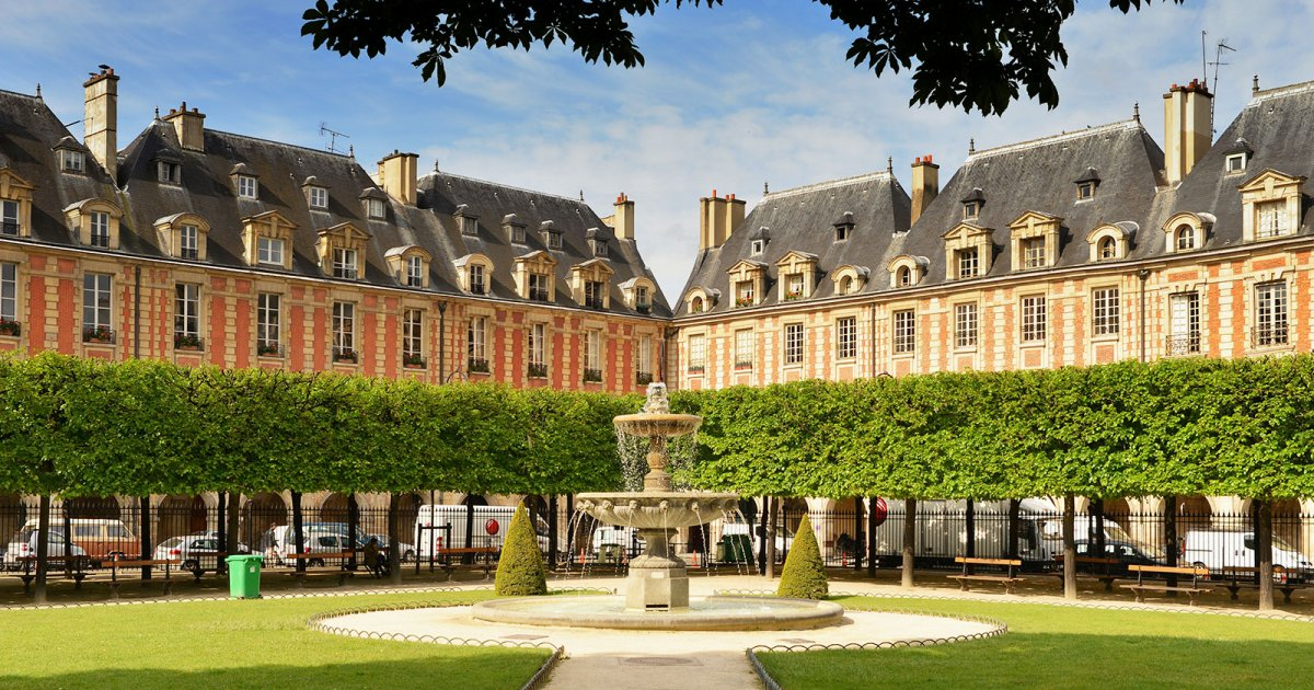 audioguide place des vosges mywowo travel app. Black Bedroom Furniture Sets. Home Design Ideas