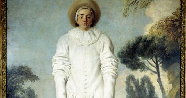 PIERROT GILLES WATTEAU RICHELIEU WING HALL 35