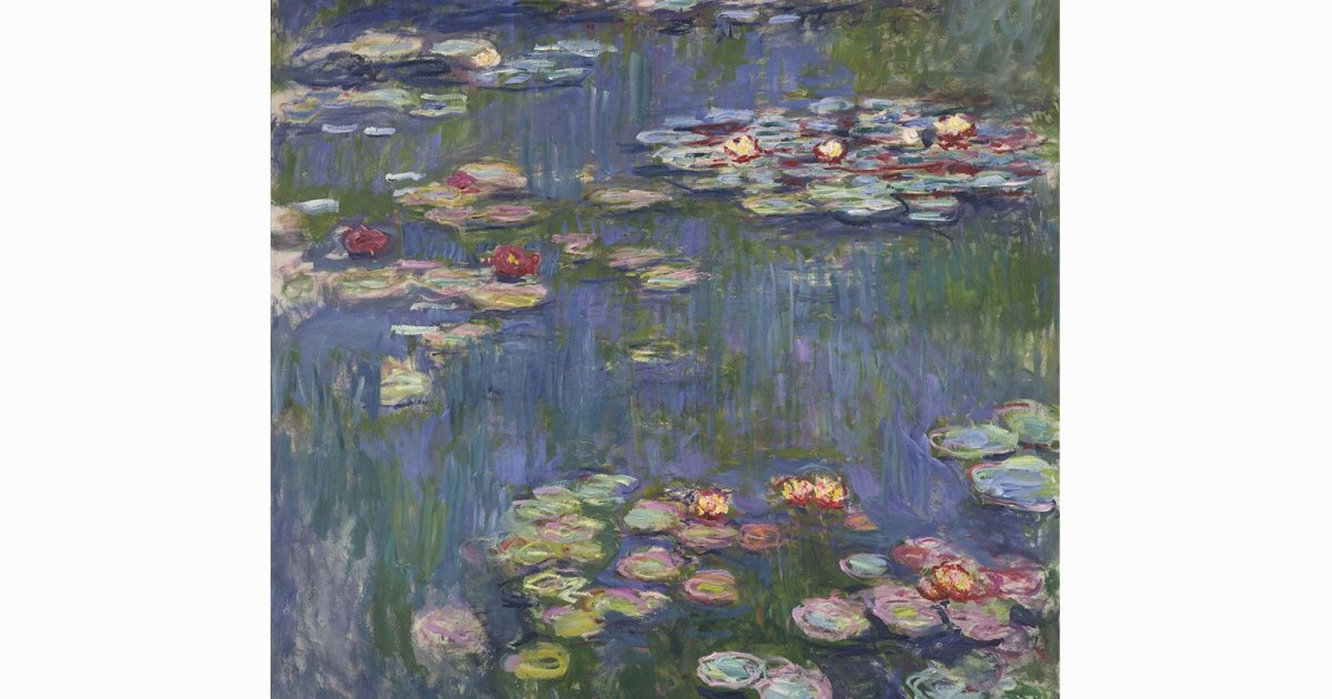 MUSÉE D'ART OCCIDENTAL, MONET NYMPHÉAS