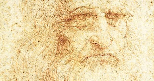 ROYAL LIBRARY LEONARDO SELF-PORTRAIT