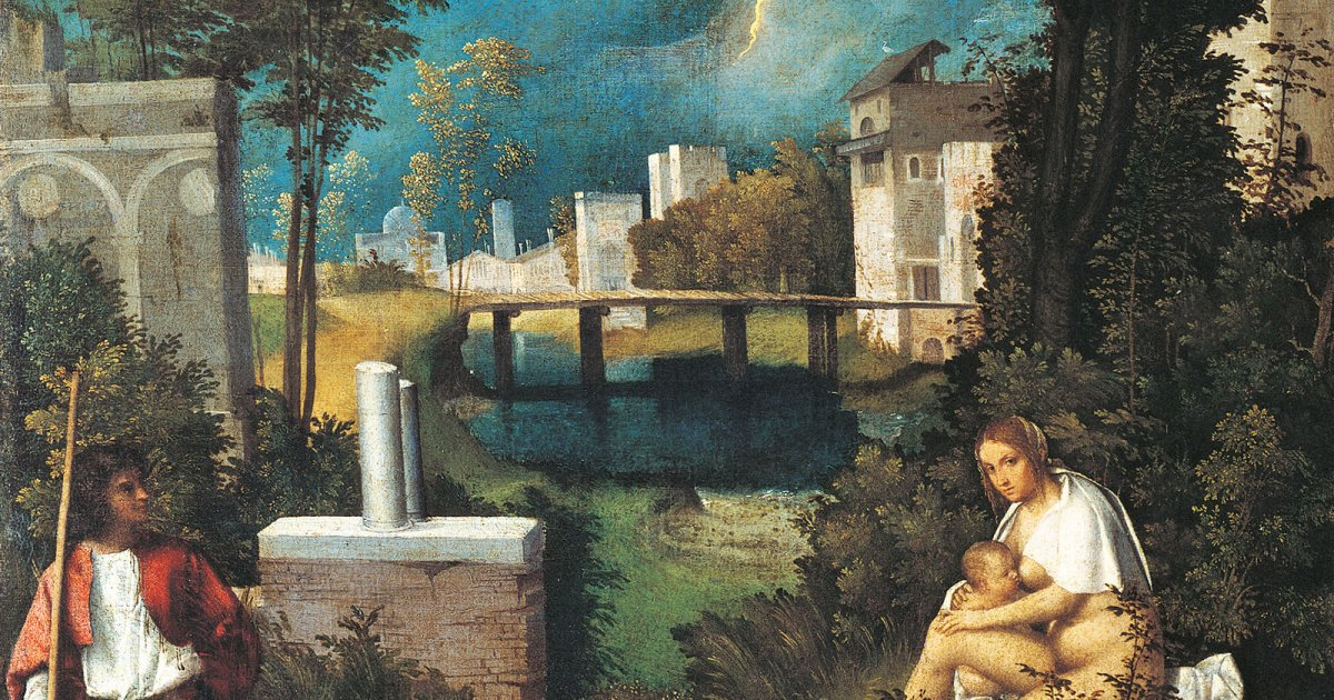 audio guide accademia gallery the tempest giorgione