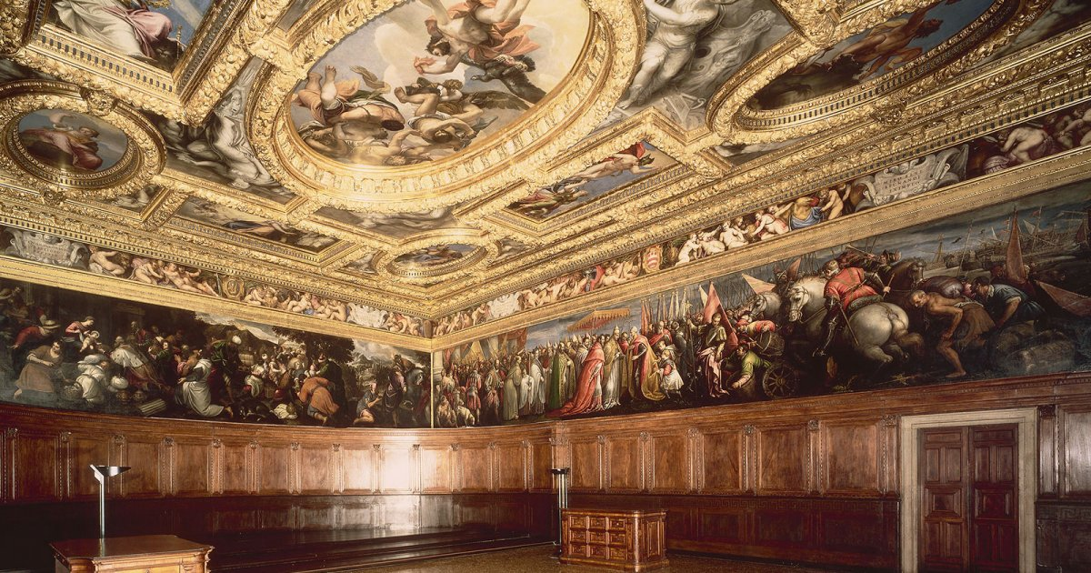DOGE'S PALACE, Council Of Ten