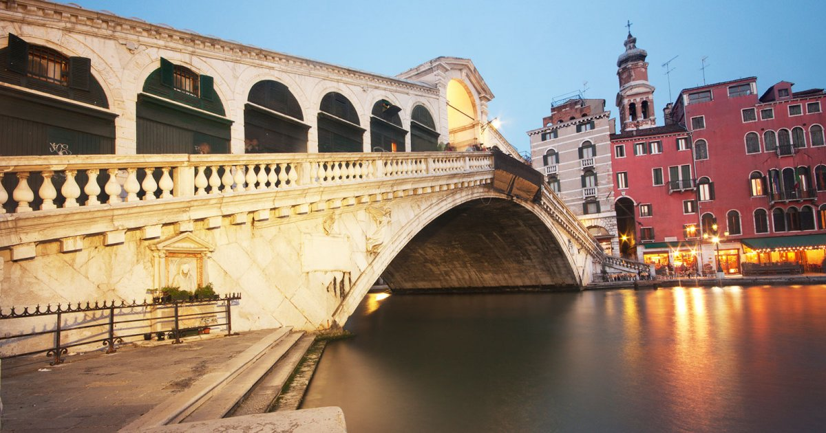 RIALTO BRIDGE, ST. MARK'S SIDE