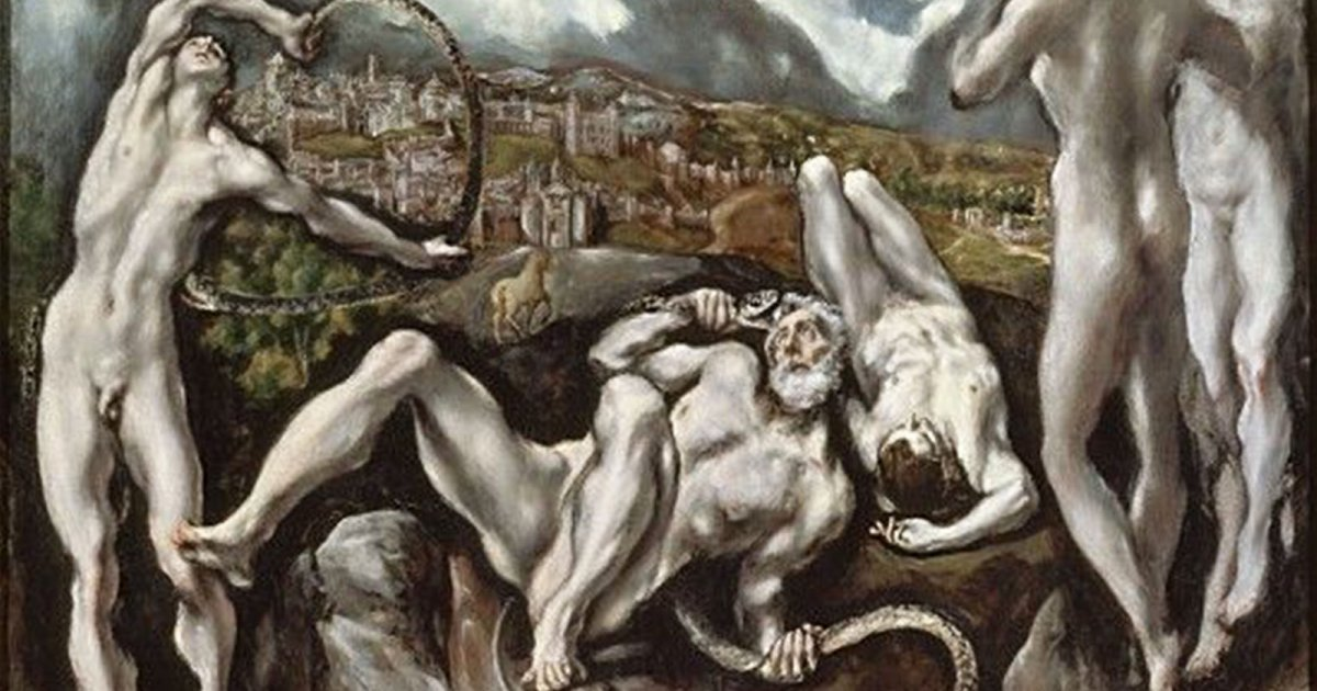NATIONAL GALLERY WASHINGTON, LAOCOONTE EL GRECO