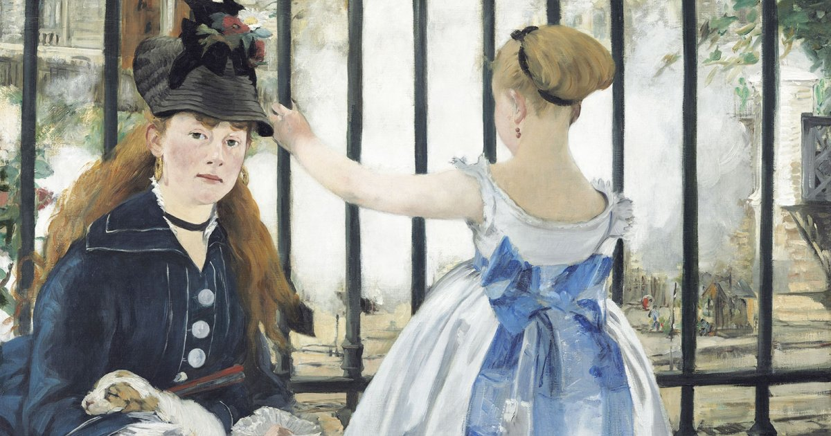 NATIONAL GALLERY, El Ferrocarril Manet